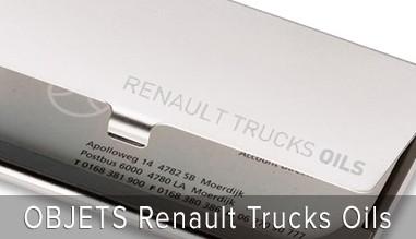 OBJETS Renault Truks Oils